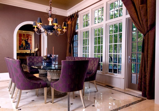 For one on pinterest purple dining rooms dining rooms and lavender